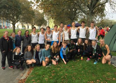 Exeter Uni Cross country team
