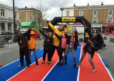 Portable Athletics Track London