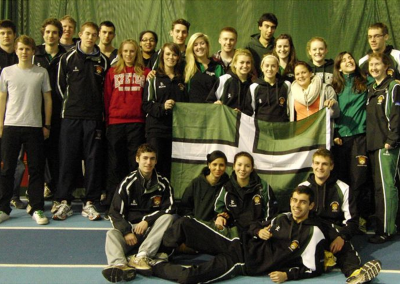 Exeter Uni Indoor BUCS team