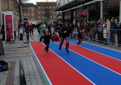 Portable Athletics Track